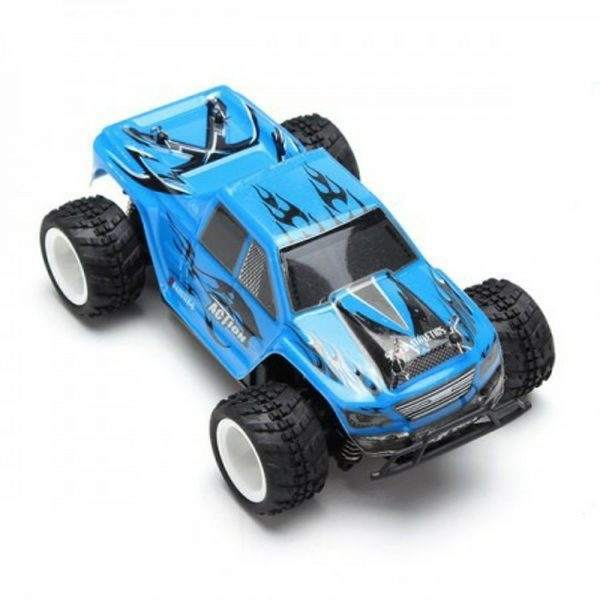 WLtoys P929 128 2.4G RTR Electric 4WD Brushed Monster Truck RC Car 2