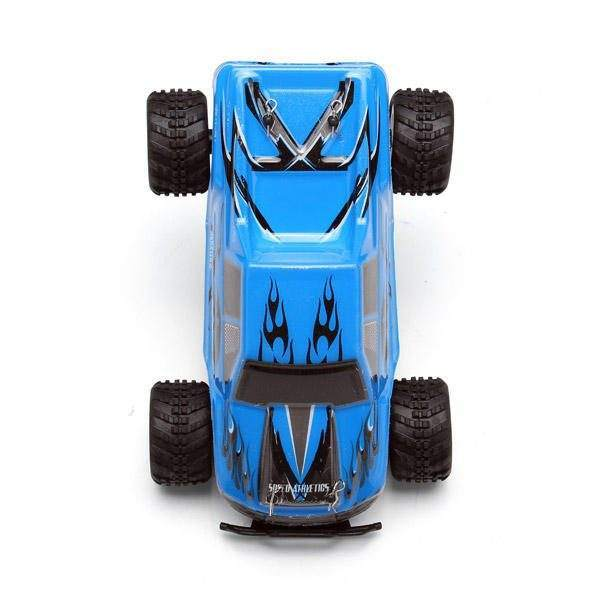 WLtoys P929 128 2.4G RTR Electric 4WD Brushed Monster Truck RC Car 5