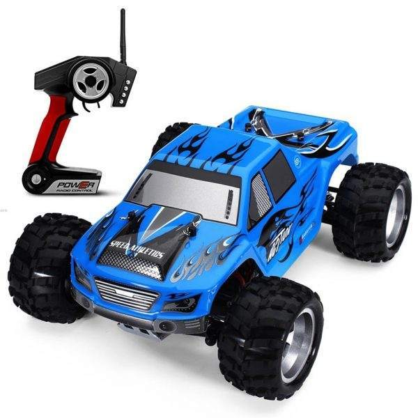 WLtoys A979 4WD 1.18 Monster Truck RC Car 4